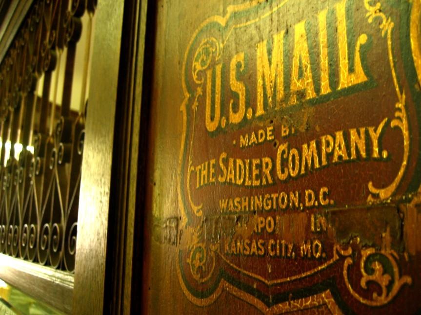 FAM tour post office front desk