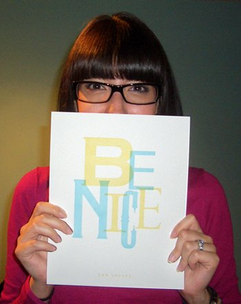 melissa says be nice please