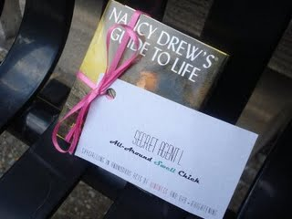 secret agent book drop