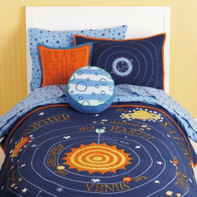Solar system bed quilt or blast off to awesome a centauri for Solar system quilt pattern