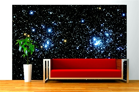 Ideas and innovations peppered thought for Constellation ceiling mural