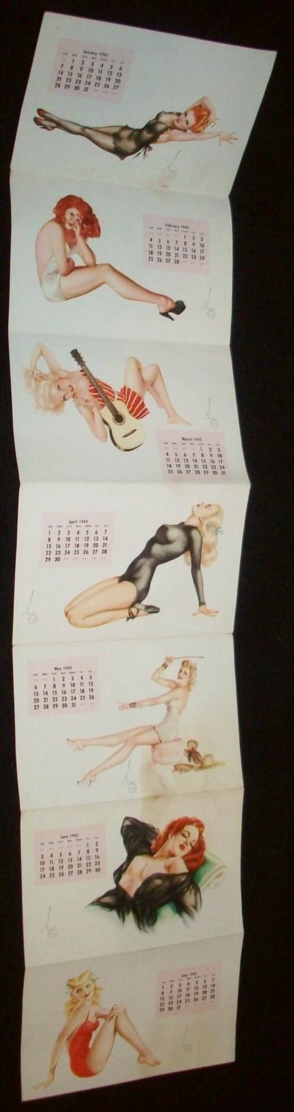 esquire pullout calendar