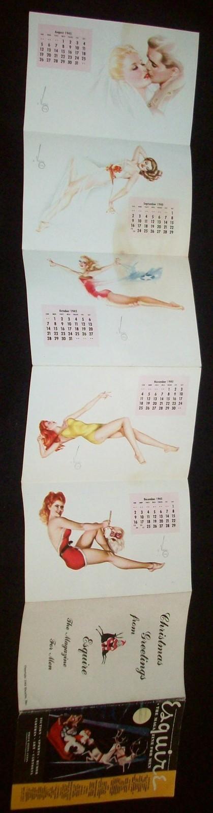 esquire pullout calendar2