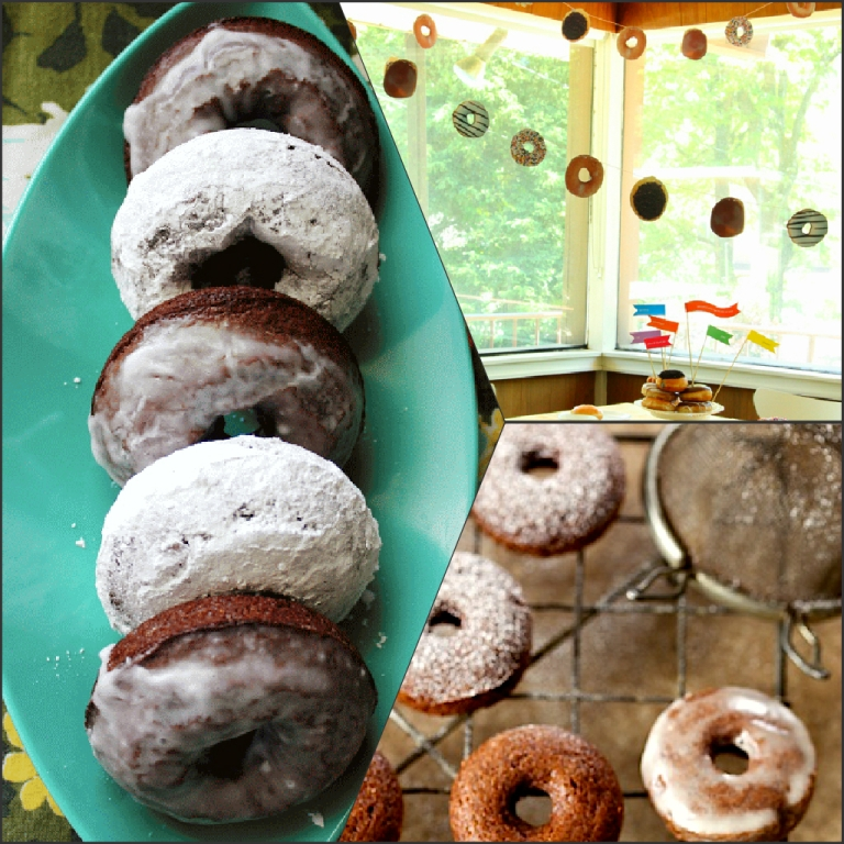 doughnut-Collage