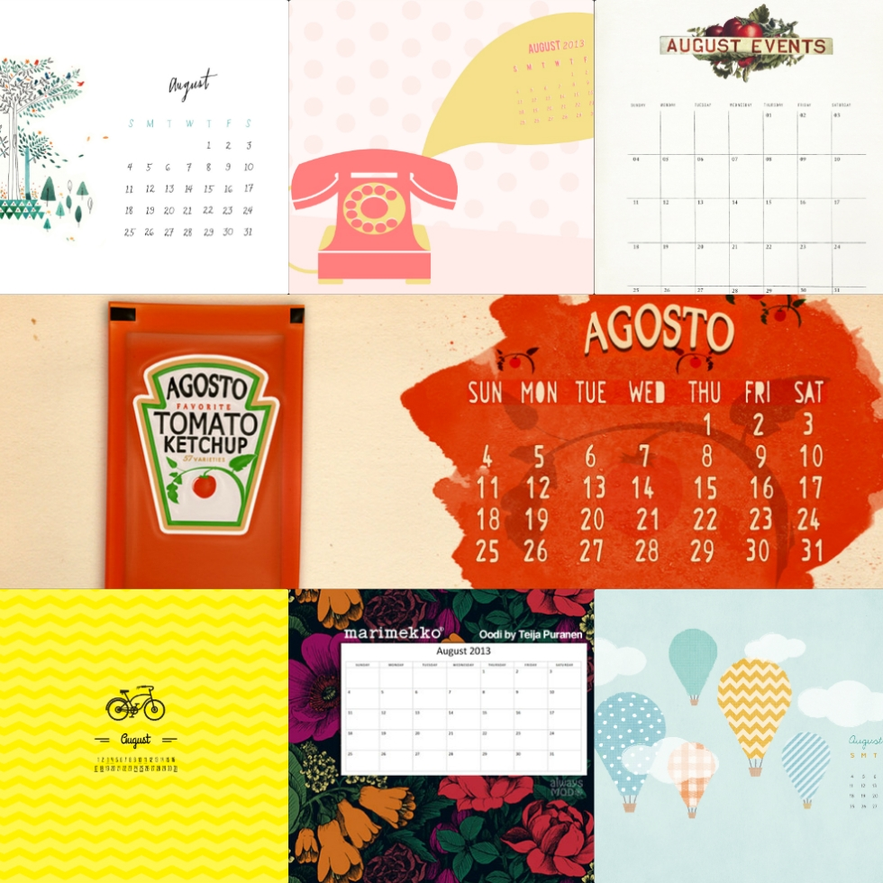 august-calendar-collage