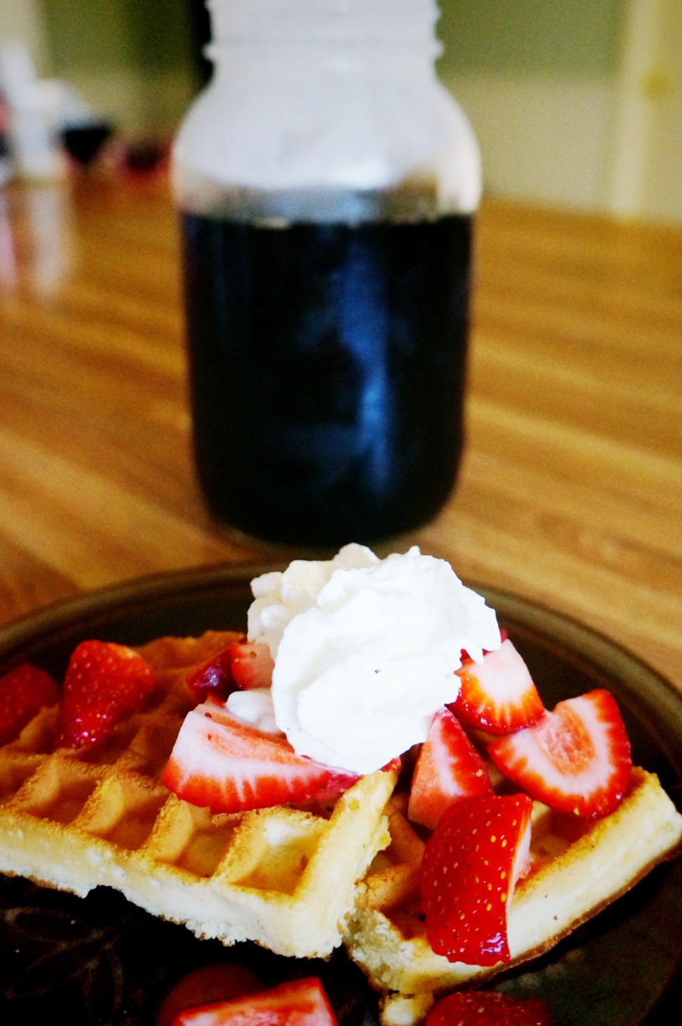 waffles-and-strawberries