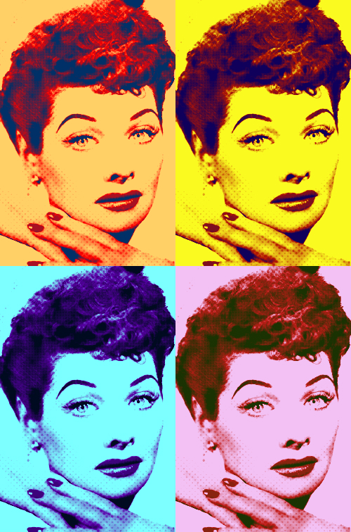 lucille-ball-warhol-pop-art