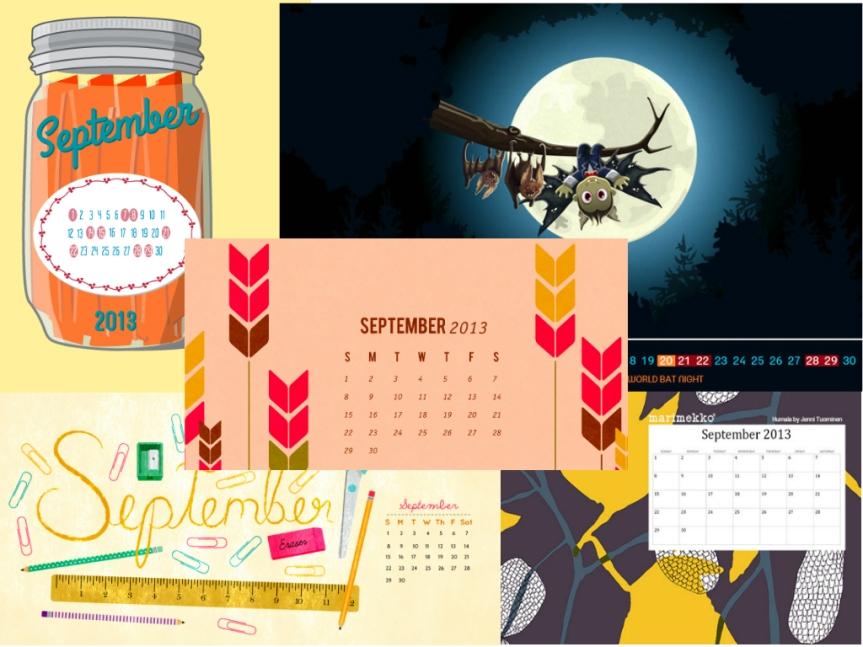 september-calendars