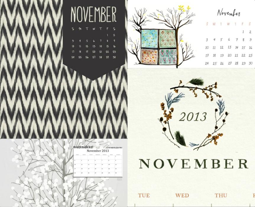 november-calendar-Collage